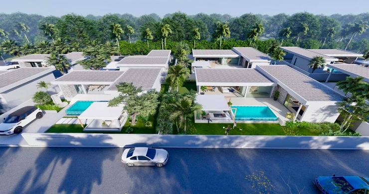 New Stylish Modern 2 Bed Private Pool Villas in Lamai-11