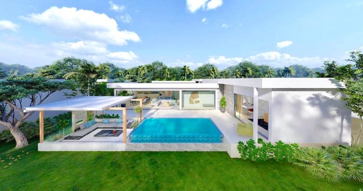 New Stylish Modern 2 Bed Private Pool Villas in Lamai-1