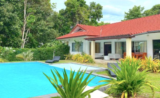 Tropical 2 Bedroom Pool Villa for Sale in Bangrak