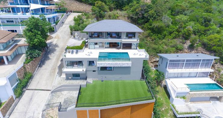 Luxury 6 Bedroom Private Sea View Villa in Plai Laem-2