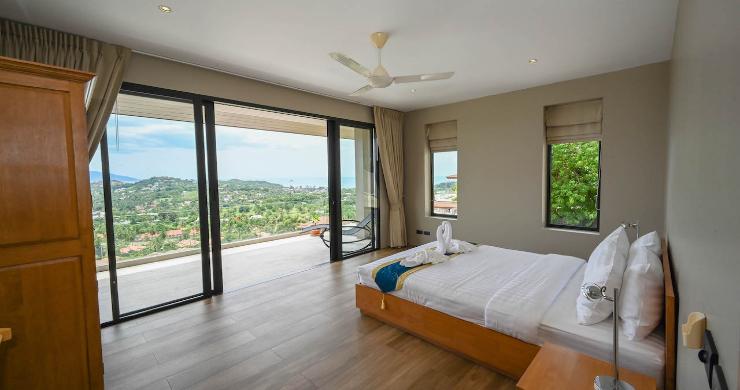 Luxury 6 Bedroom Private Sea View Villa in Plai Laem-13