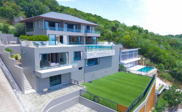 Luxury 6 Bedroom Private Sea View Villa in Plai Laem