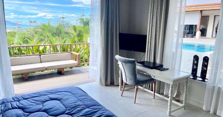 Sumptuous 4 Bed Luxury Sea View Villa in Plai Laem-8