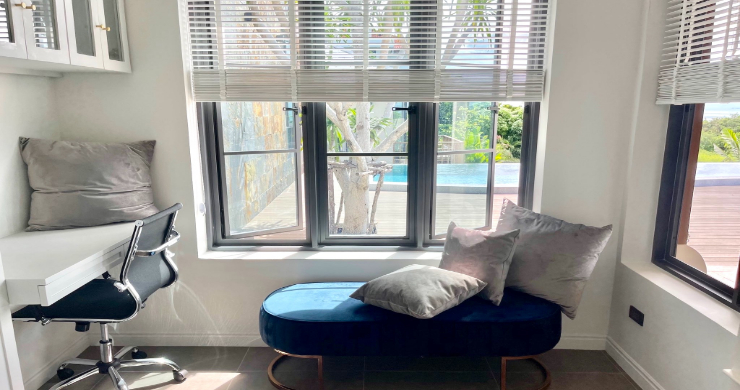 Sumptuous 4 Bed Luxury Sea View Villa in Plai Laem-9