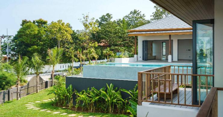 Sumptuous 4 Bed Luxury Sea View Villa in Plai Laem-14
