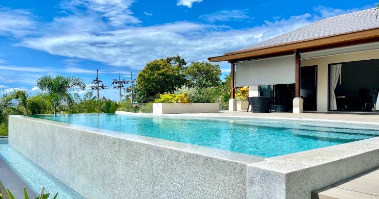 Sumptuous 4 Bed Luxury Sea View Villa in Plai Laem-7