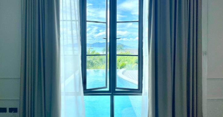 Sumptuous 4 Bed Luxury Sea View Villa in Plai Laem-13