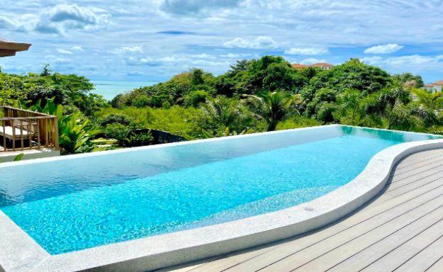 Sumptuous 4 Bed Luxury Sea View Villa in Plai Laem