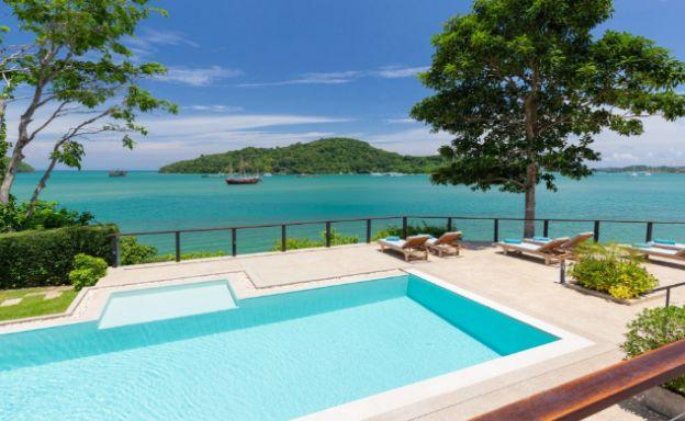 Oceanfront 5 Bedroom Luxury Villa for Sale in Phuket
