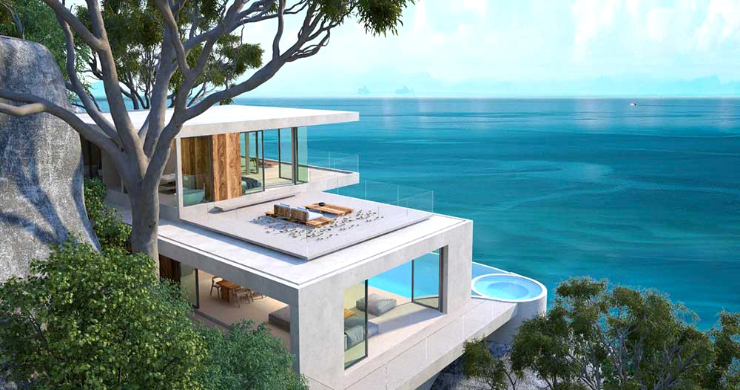 Gorgeous 3-4 Bed Luxury Sea View Villa in Chaweng Noi-2