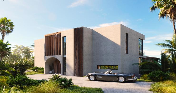 New Eco-Luxury 3 Bedroom Sea-view Villas in Bang Por-4