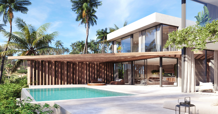 New Eco-Luxury 3 Bedroom Sea-view Villas in Bang Por-2