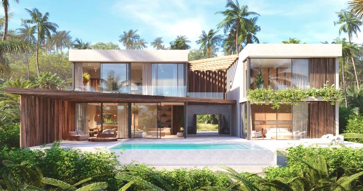 New Eco-Luxury 3 Bedroom Sea-view Villas in Bang Por-1