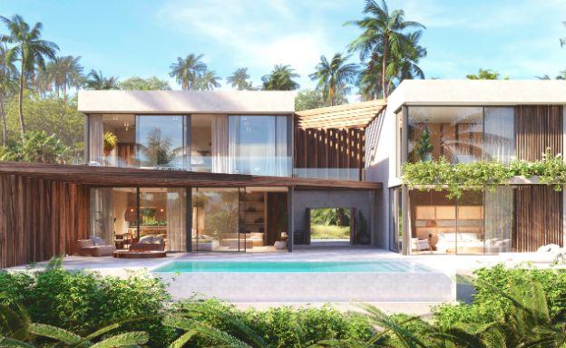 New Eco-Luxury 3 Bedroom Sea-view Villas in Bang Por