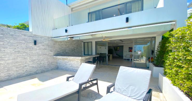 Modern 4 Bedroom Tropical Sea View Villa in Plai Laem-12