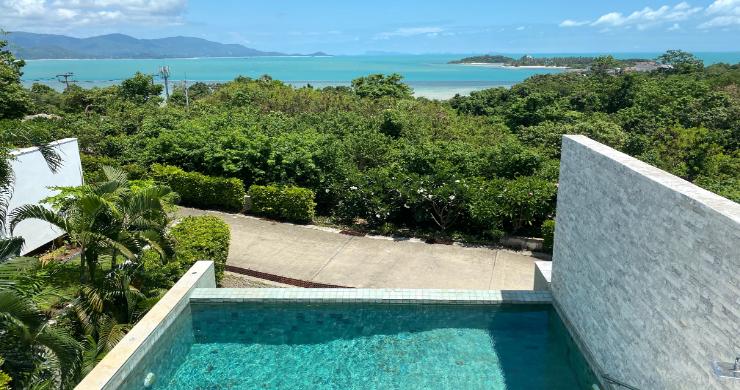 Modern 4 Bedroom Tropical Sea View Villa in Plai Laem-6