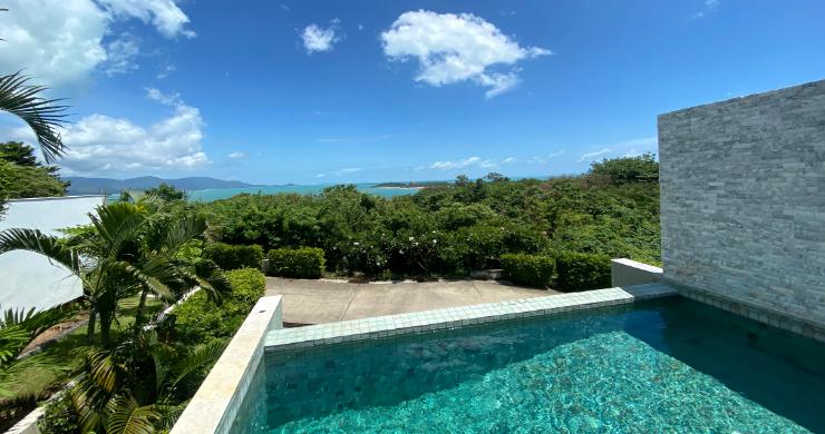 Modern 4 Bedroom Tropical Sea View Villa in Plai Laem-16