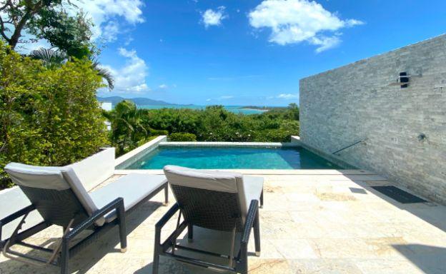Modern 4 Bedroom Tropical Sea View Villa in Plai Laem