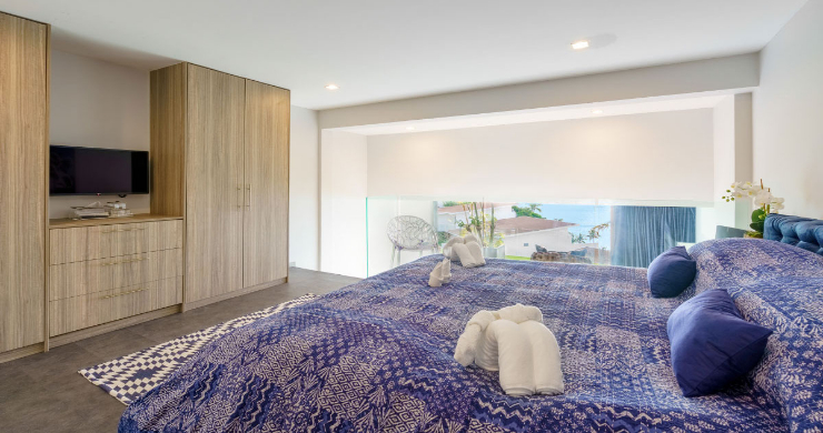 Luxury 3 Bed Sea View Villa for Sale in Chaweng Hills-16