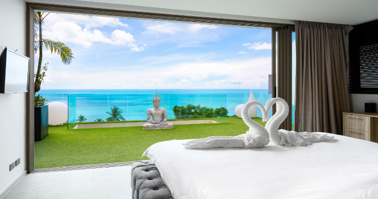 Luxury 3 Bed Sea View Villa for Sale in Chaweng Hills-10