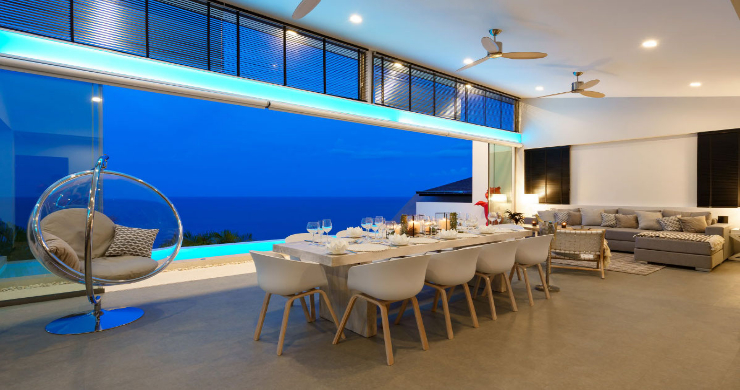 Luxury 3 Bed Sea View Villa for Sale in Chaweng Hills-8