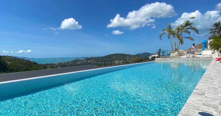 Elegant 4 Bedroom Sea View Villa in Bophut hills-3