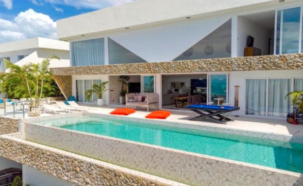 Elegant 4 Bedroom Sea View Villa in Bophut hills