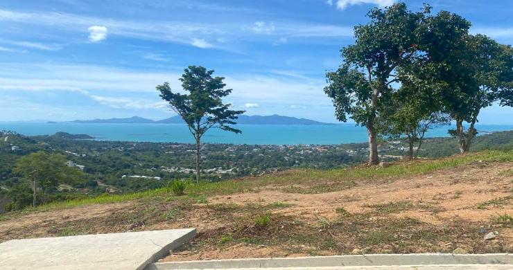 Sea-view Land for Sale in Bophut Hills-2