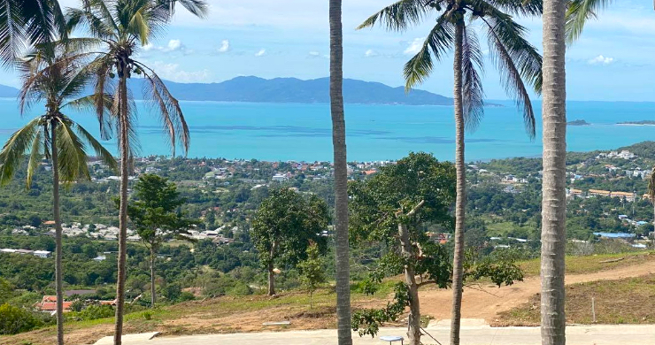 Sea-view Land for Sale in Bophut Hills-1