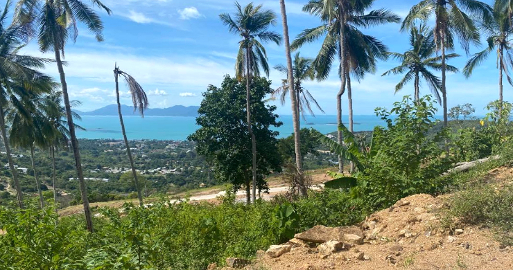 Sea-view Land for Sale in Bophut Hills-3