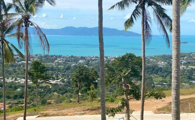 Sea-view Land for Sale in Bophut Hills