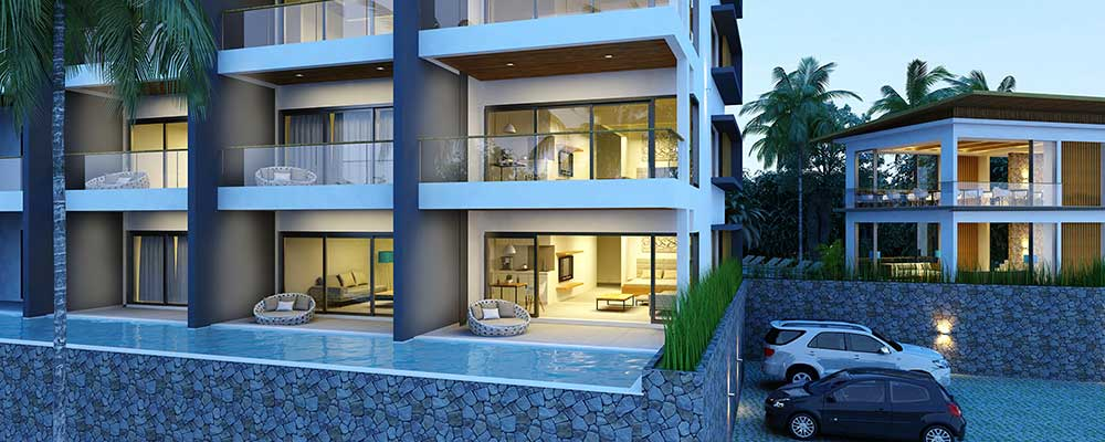 New Stylish Sea-view Apartments in Choeng Mon-8