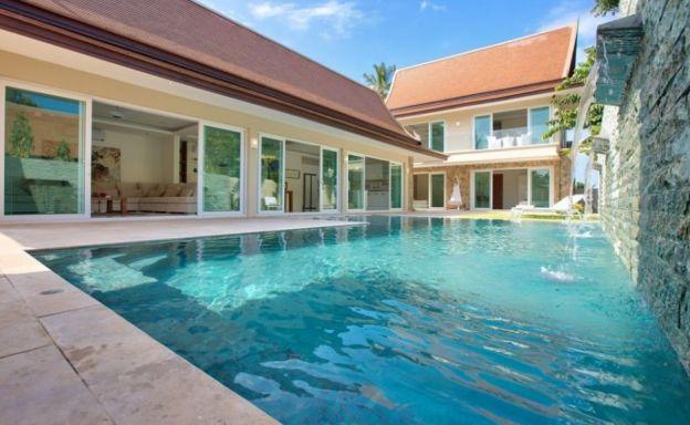 Beautiful 4 Bedroom Tropical Pool Villa in Bangrak