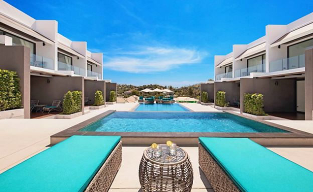 Contemporary 2 Bedroom Houses by Choeng Mon Beach