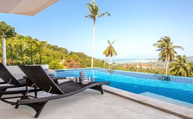 Luxury 3 Bedroom Sea-view Pool Villas in Plai Laem