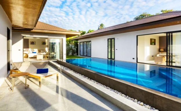 New Luxury Pool Villas for Sale by Choeng Mon Beach
