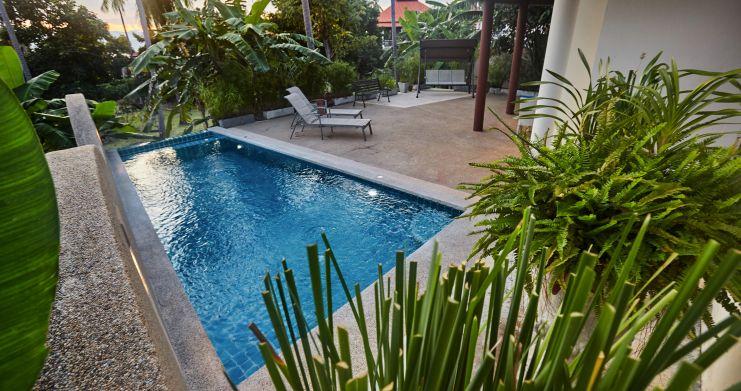 Exclusive 4 Bedroom Tropical Pool Villa in Plai Laem-20