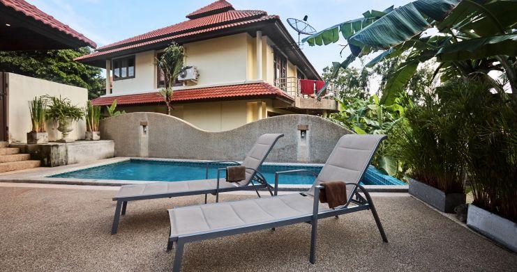 Exclusive 4 Bedroom Tropical Pool Villa in Plai Laem-1