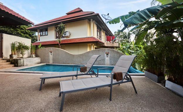 Exclusive 4 Bedroom Tropical Pool Villa in Plai Laem