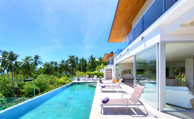 Sunset Sea-View Luxury Villas For Sale in Bang Por