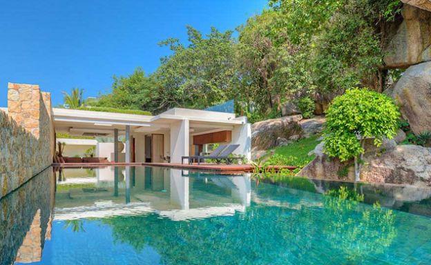 Stunning 3 Bedroom Ocean Front Villa in Choeng Mon