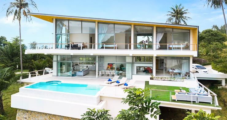Exclusive New Luxury Sea-view Villas in Lamai-17