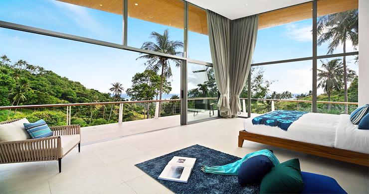 Exclusive New Luxury Sea-view Villas in Lamai-8