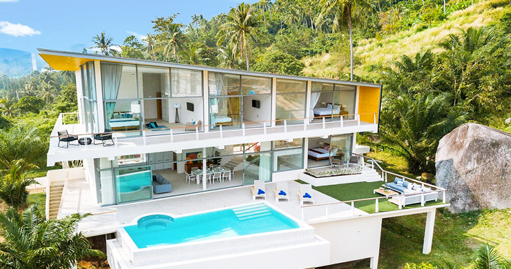 Exclusive New Luxury Sea-view Villas in Lamai-20