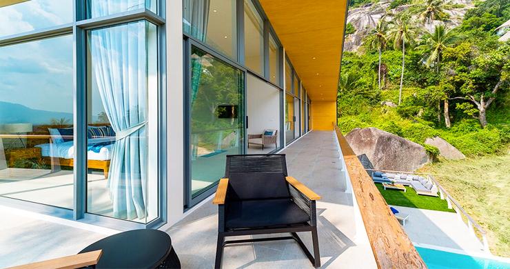 Exclusive New Luxury Sea-view Villas in Lamai-16