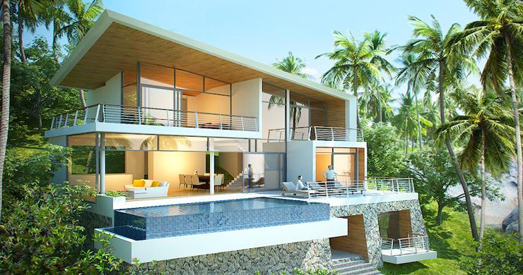 Exclusive New Luxury Sea-view Villas in Lamai-22