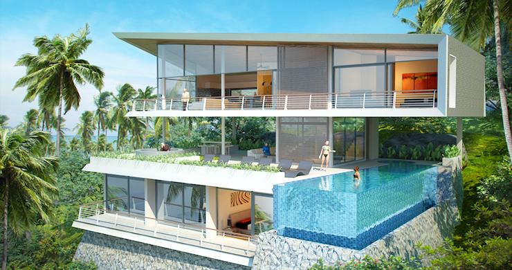 Exclusive New Luxury Sea-view Villas in Lamai-21