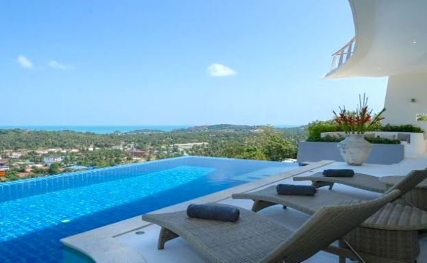 Modern 4 Bed Sea View Villa for Sale in Koh Samui
