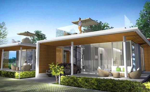 Beautiful 2 Bedroom Modern Villas in Peaceful Maenam