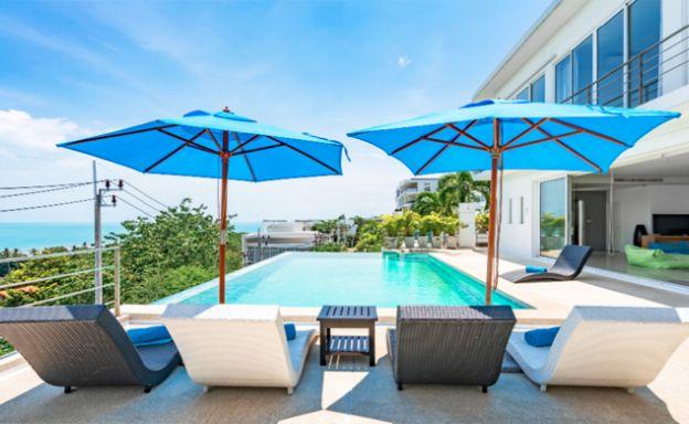 Unique Sea view 4 Bedroom Luxury Villa in Big Buddha